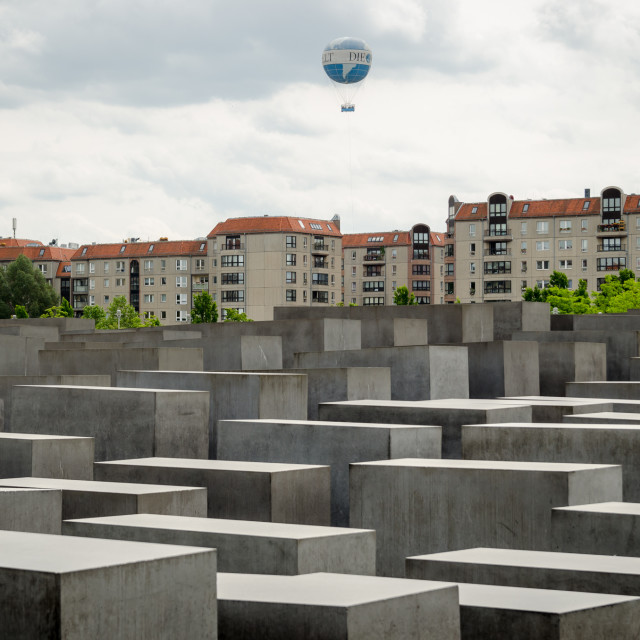 """Memorial to the Murdered Jews of Europe"" stock image"