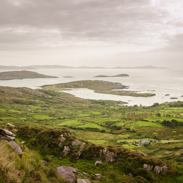 """Ring of Kerry"" stock image"