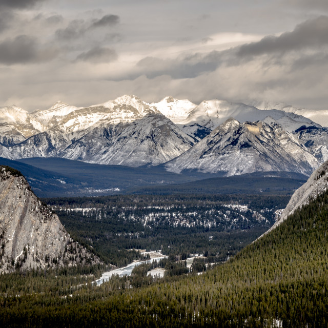 """Rocky Mountains"" stock image"