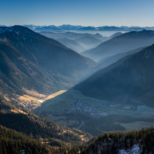 """Bavarian Alps"" stock image"