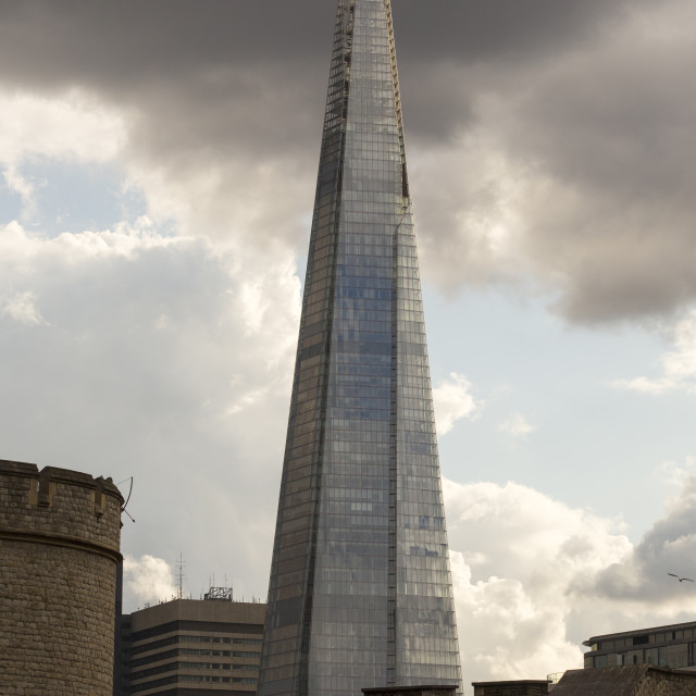 """The Shard, the tallest building in London, UK."" stock image"