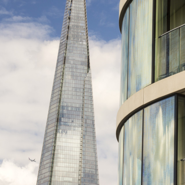 """The Shard, the tallest building in London."" stock image"