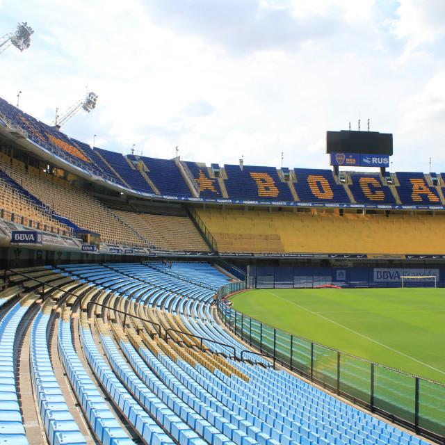 """""""Boca Juniors' Bombonera Stadium"""" stock image"""