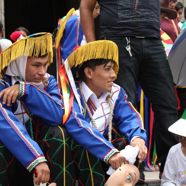 """Religious celebrations in Lima"" stock image"
