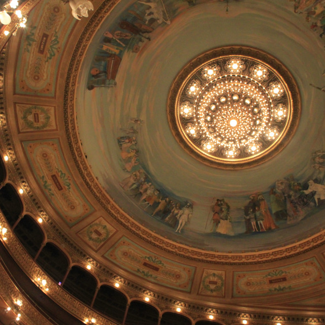 """""""Buenos Aires Opera House"""" stock image"""