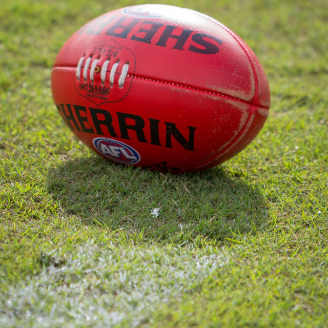 """Sherrin Football"" stock image"