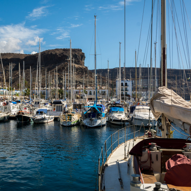 """""""Puerto de Mogan"""" stock image"""