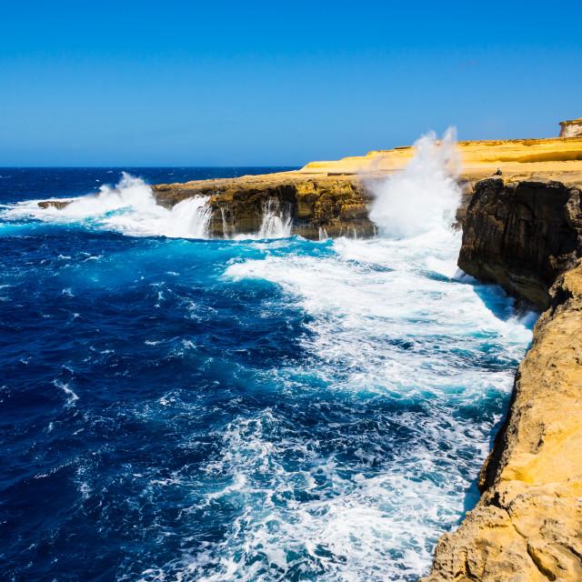 """""""Gozo Coast [14]"""" stock image"""