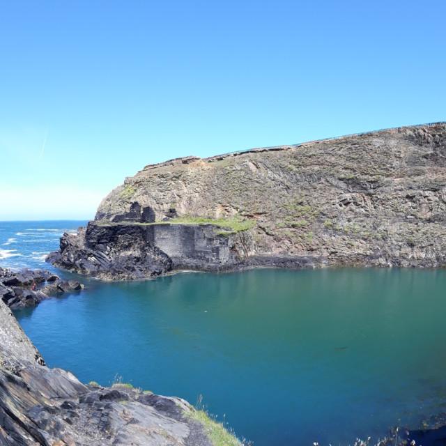 """the blue lagoon"" stock image"