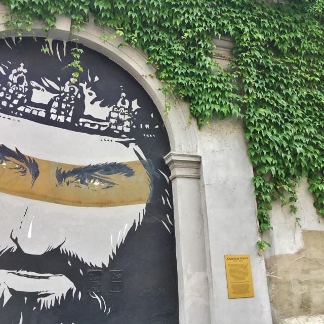 """Kraków Street Art"" stock image"