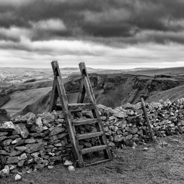 """The stile"" stock image"