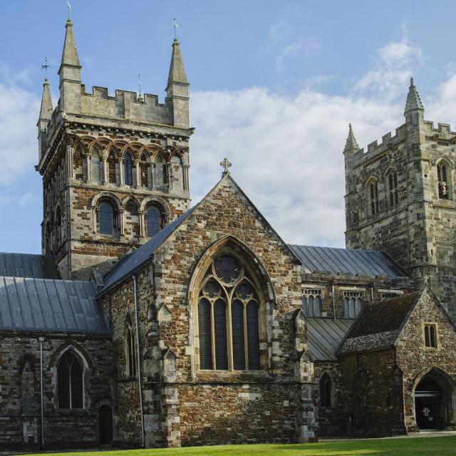 """Wimborne Minster, Dorset"" stock image"