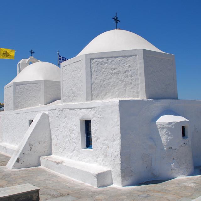 """Agios Nikolaos, Aegina"" stock image"