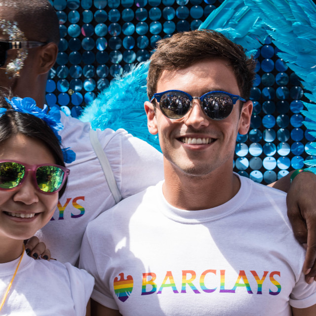 """Pride in London parade 2017"" stock image"