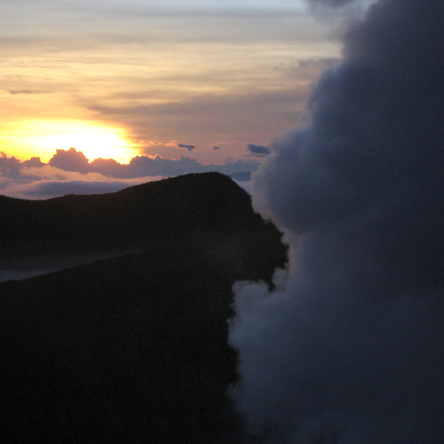 """Volcanic Skies"" stock image"