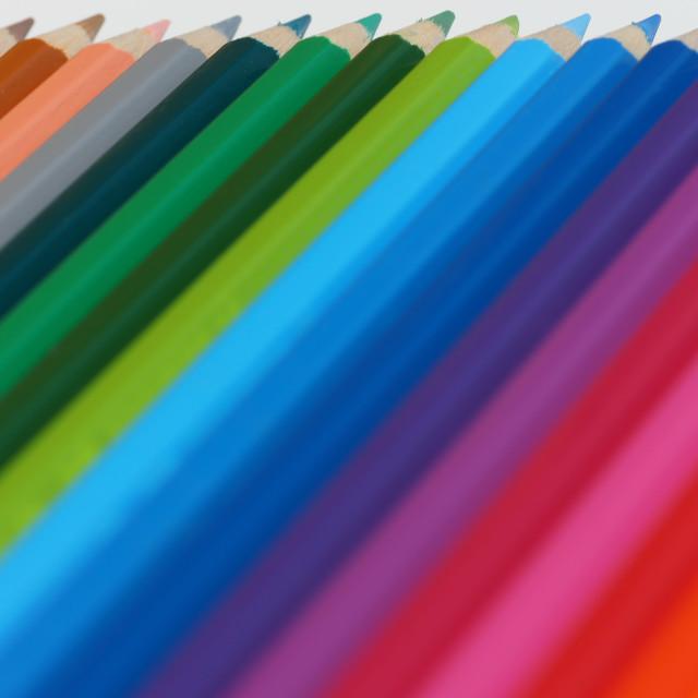 """pencil colours"" stock image"