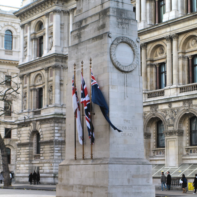 """Cenotaph - London - UK"" stock image"