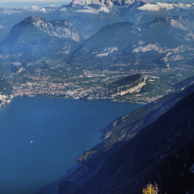 """Riva - Lake Garda - Italy"" stock image"