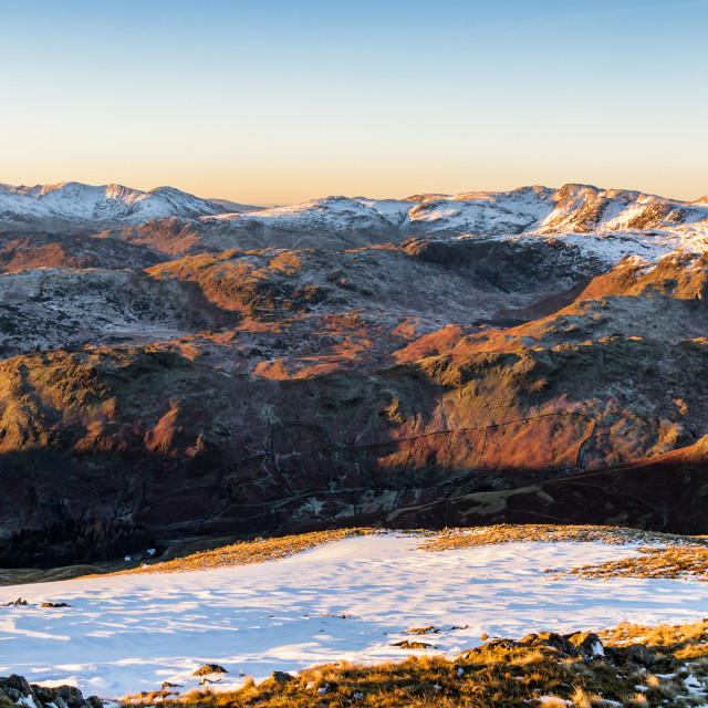 """South Western Fells"" stock image"