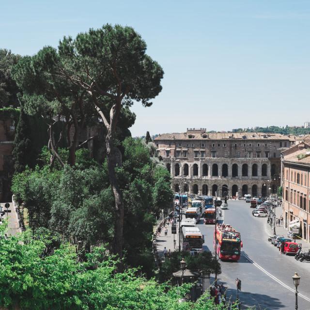 """Capitoline Hill"" stock image"