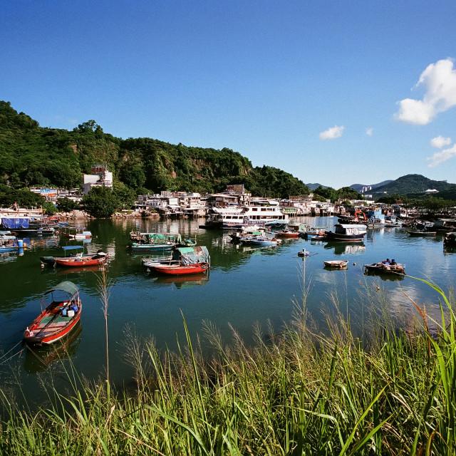 """""""Sam Ka Tsuen, Hong Kong"""" stock image"""