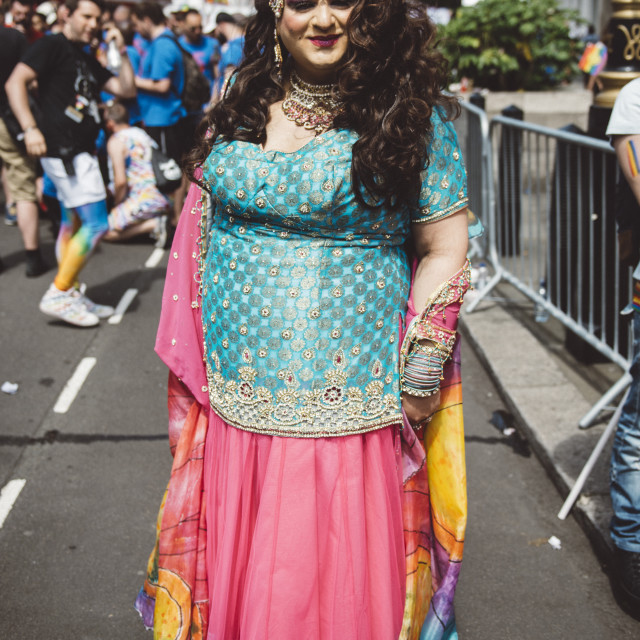"""London Pride '17 [3]"" stock image"