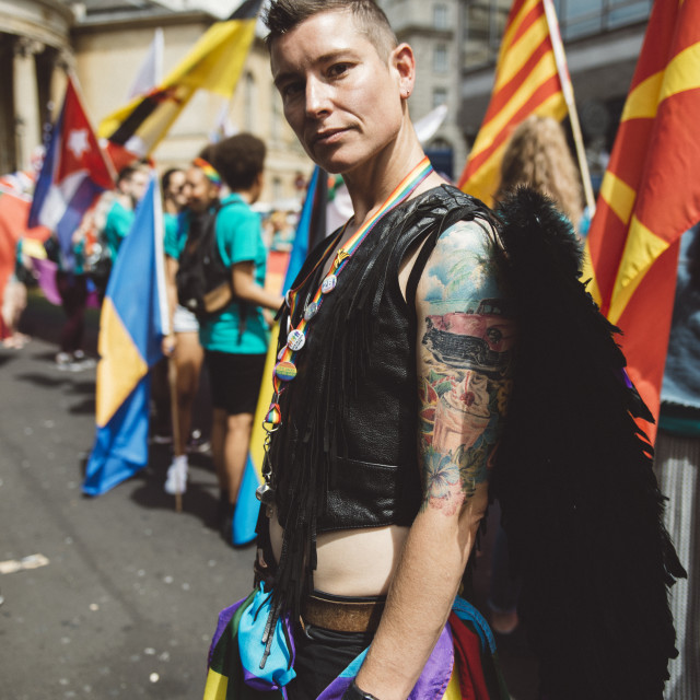 """London Pride '17 [1]"" stock image"