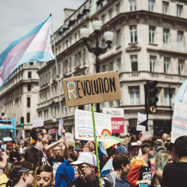 """London Pride '17 [9]"" stock image"