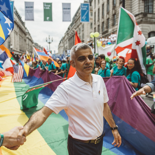 """London Pride '17 [8]"" stock image"