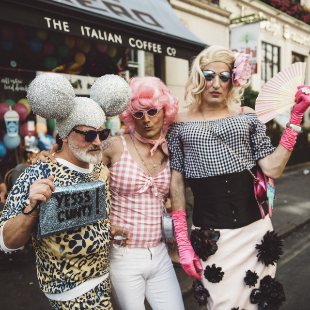 """London Pride '17 [12]"" stock image"