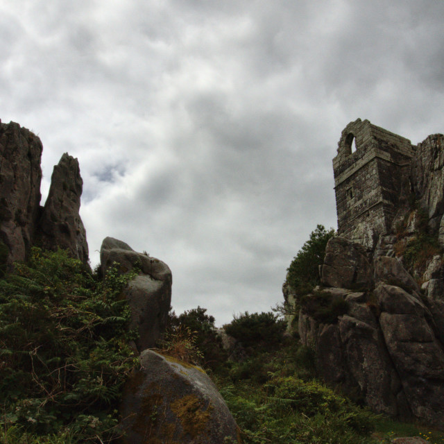 """Roche Rock."" stock image"