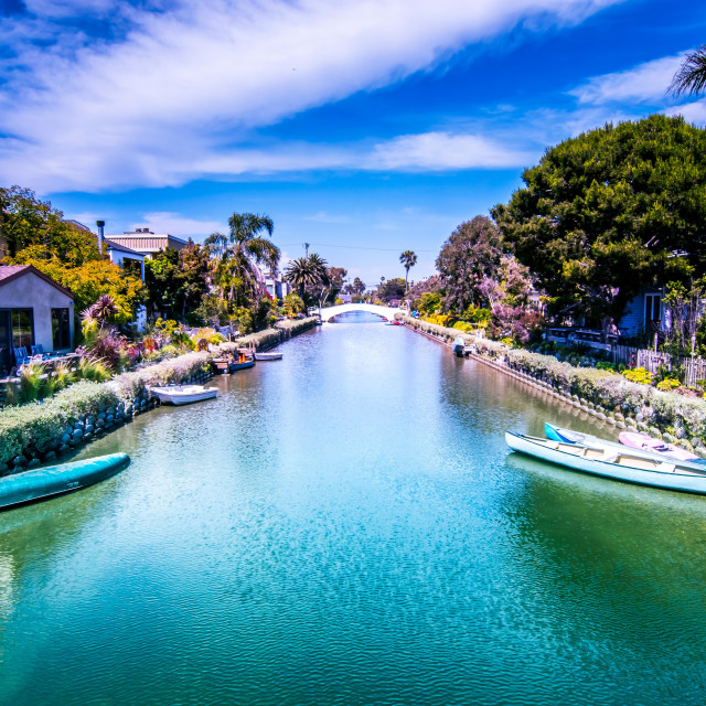 """""""Venice canals"""" stock image"""