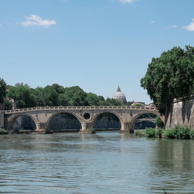 """""""Roman Bridge"""" stock image"""