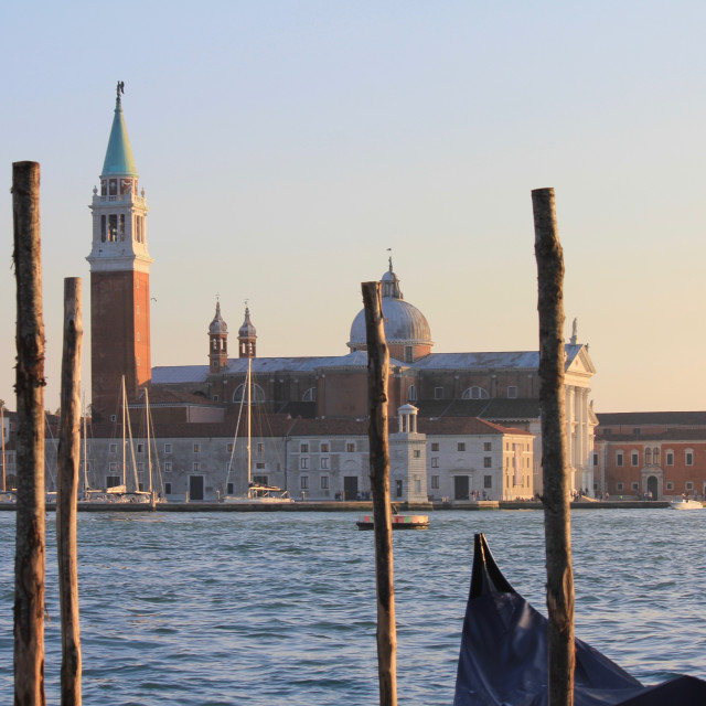 """""""Church of San Giorgio Maggiore - Venice"""" stock image"""