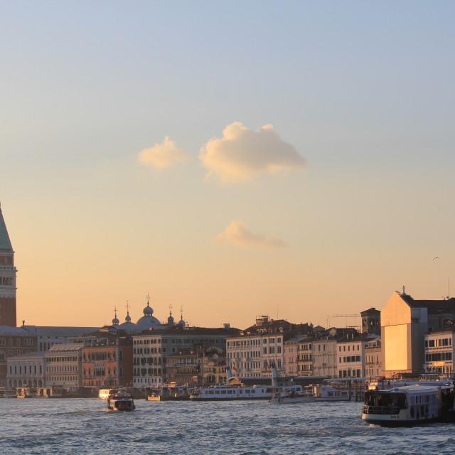 """Venice Waterfront"" stock image"