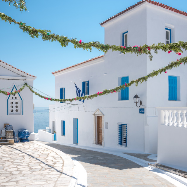 """Andros Island Greece"" stock image"