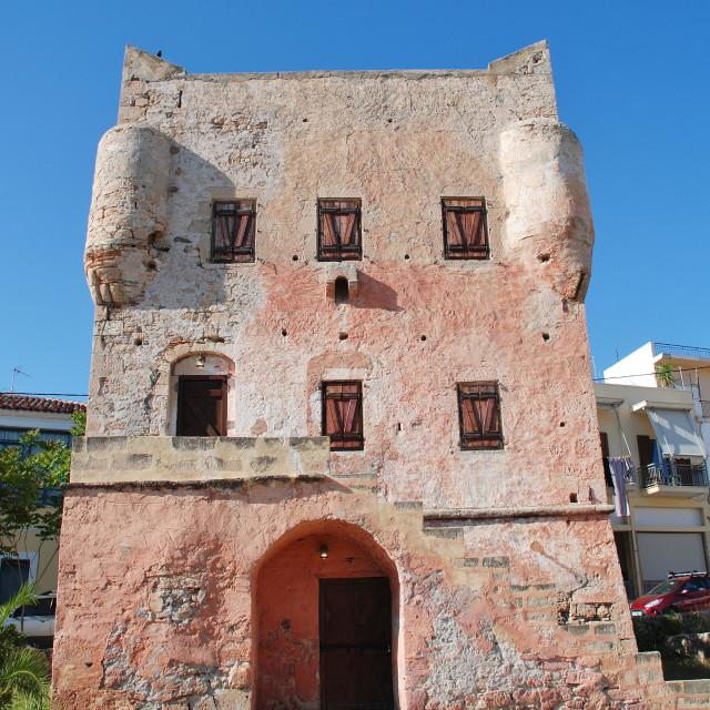"""Markellos Tower, Aegina"" stock image"