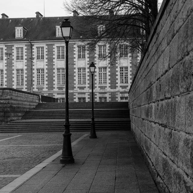 """""""Parc de l'Eveche"""" stock image"""