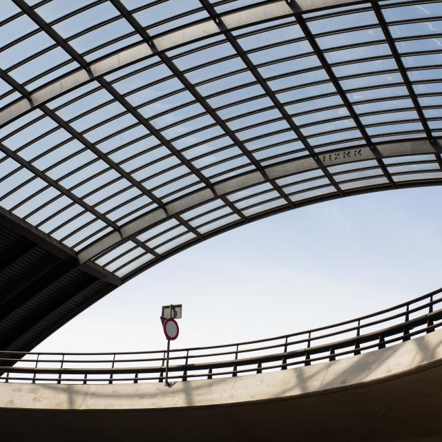"""Amsterdam station"" stock image"