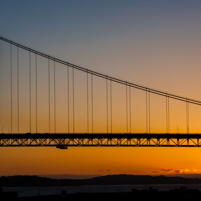 """Forth sunset"" stock image"