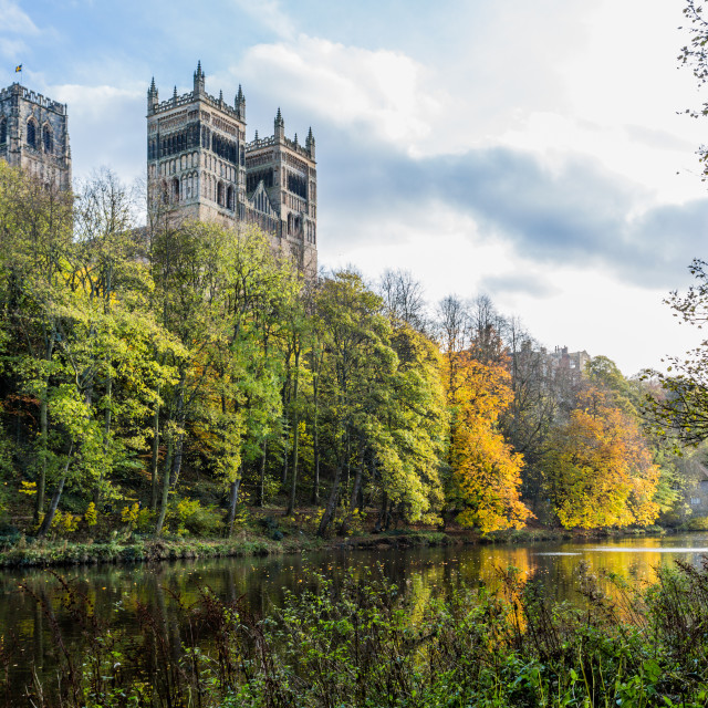 """""""Durham cathedral"""" stock image"""
