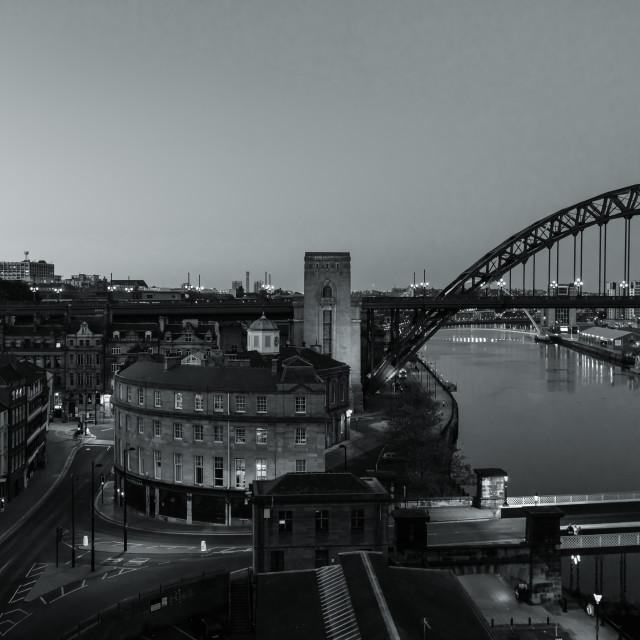 """Newcastle Nights"" stock image"
