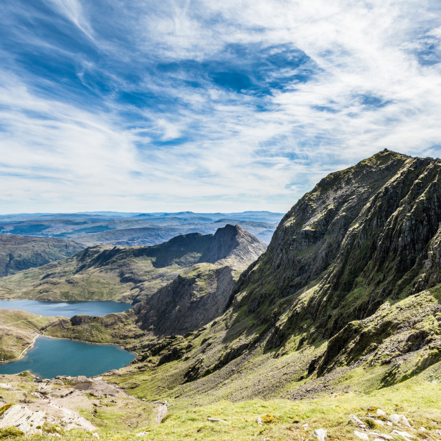 """Snowdon summit"" stock image"