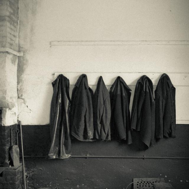"""Coat rack"" stock image"