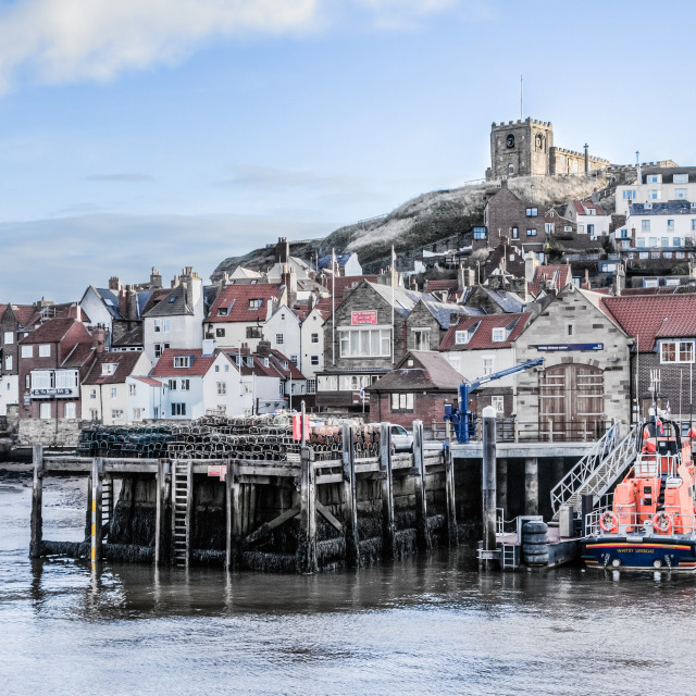 """""""Whitby Town"""" stock image"""