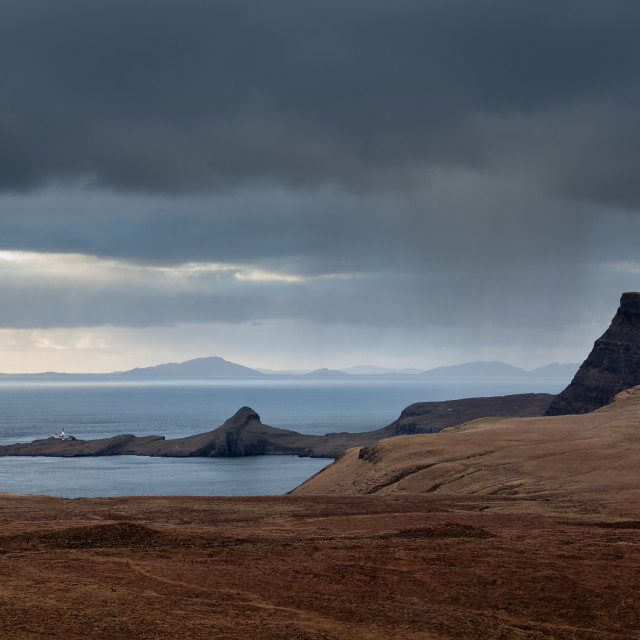 """Neist Point, Isle of Skye"" stock image"