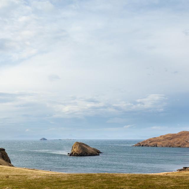 """""""Flodigarry Island"""" stock image"""