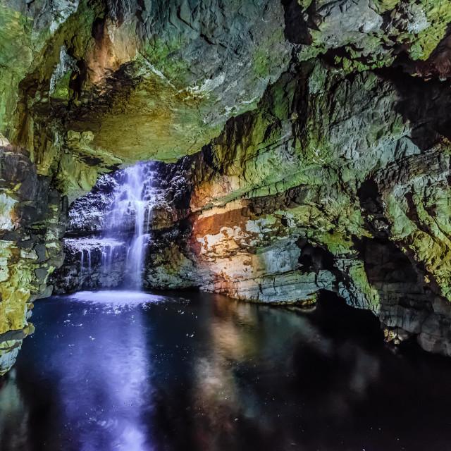 """Smoo Cave"" stock image"