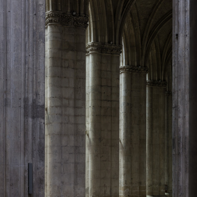 """""""Pillars of the Faithful"""" stock image"""
