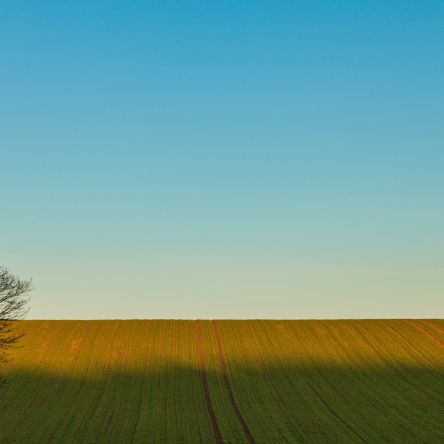 """""""Land and Sky"""" stock image"""